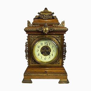 English Bracket Clock, 19th Century