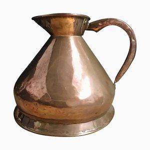 Frühes 20. Jh. Edwardianische 2-Gallonen Heuhaufen Maßeinheit aus Kupfer