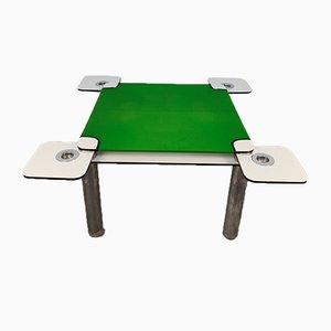 Poker Table by Joe Colombo for Zanotta, 1970s