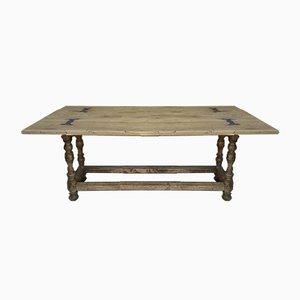 Massiver Eichenholz Tisch, 1900er