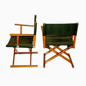 Folding Chairs, Sweden, 1960s, Set of 2