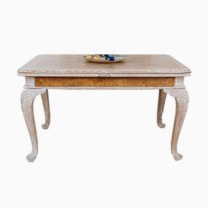 Eichenholz Esstisch im Queen Queen Stil mit 4 Stühlen, 5er Set