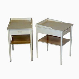 Bed Tables from Carlström, Sweden, 1960s, Set of 2