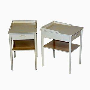 Tables de Chevet de Carlström, Suède, 1960s, Set de 2