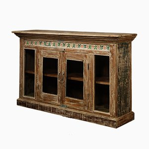 Sideboard with Glass Panelled Doors