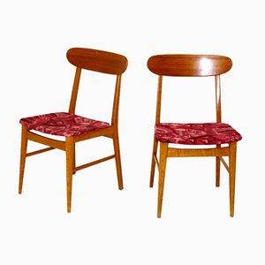 Scandinavian Chairs, Sweden, 1960, Set of 2
