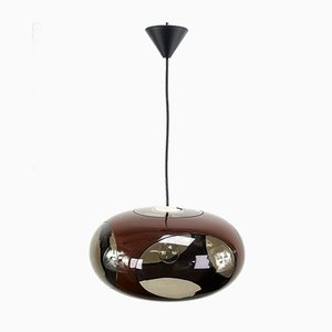 Mid-Century Brown UFO Ceiling Lamp from Massive