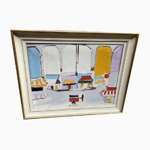 Peinture à l'Huile de Sante Monachesi
