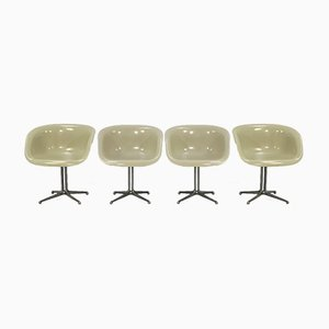 La Fonda Armchairs by Charles & Ray Eames for Herman Miller, 1960s, Set of 4