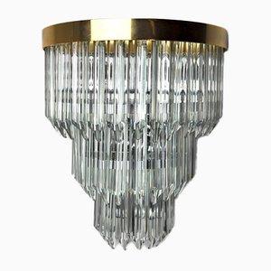 Wandlampe von Venini, Italien, 1970er