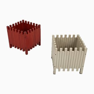 Planters by Ettore Sottsass for Poltronova, 1960s, Set of 2
