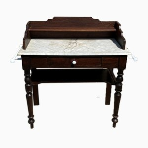 Dressing Table in Wood and Marble