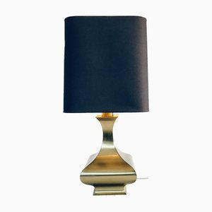 Hollywood Regency Style Brass Table Lamp, 1970s