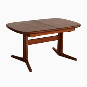 Vintage Solid Teak Extending Dining Table