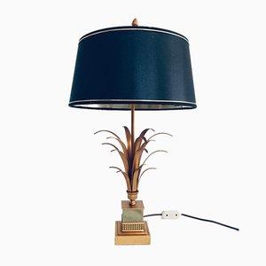 Hollywood Regency Stil Palmier Tischlampe von Boulanger SA, Belgien, 1970er