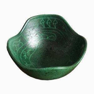 Scandinavian Ceramic Bowl from Krukmakaren Ystad, 1960s