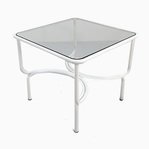 Mesa de jardín Locus Solus blanca de Gae Aulenti para Poltronova, años 60