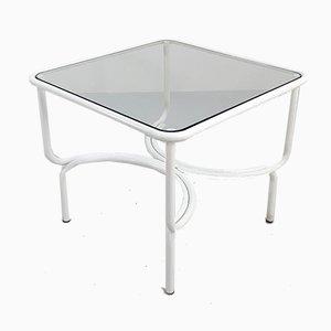 Table de Jardin Locus Solus Blanche par Gae Aulenti pour Poltronova, 1960s
