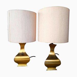 Lampes de Bureau High Society par A. Tonello, 1970s, Set de 2