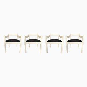 Carimate Stühle von Vico Magistretti für Cassina, 1960er, 4er Set