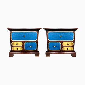 Bedside Tables by Luciano Frigerio, 1960s, Set of 2