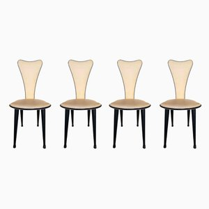 Chairs by Umberto Mascagni, 1960s, et of 4