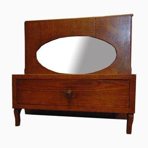 Art Deco Schreibtisch Schrank mit Spiegel