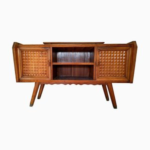 Vintage Sideboard with Riser by Paolo Buffa, 1960s