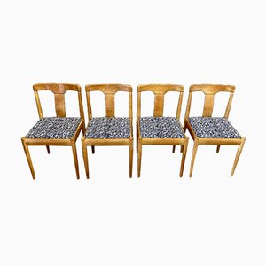 Chaises de Salle à Manger Scandinaves, 1950s, Set de 4