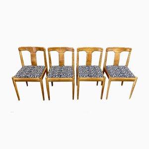 Scandinavian Dining Chairs, 1950s, Set of 4