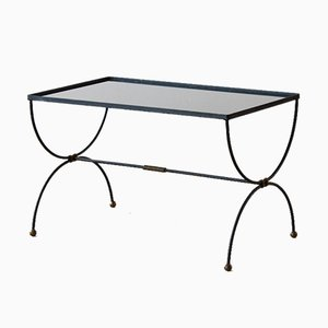 Table Basse avec Cadre en X, 1950s