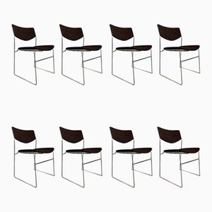 Chairs, 1970s, Set of 8