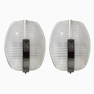 Lambda Sconces by Vico Magistretti for Artemide, Italy, 1961, Set of 2