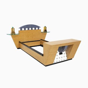 Stanhope Bed by Michael Graves for Memphis Milano