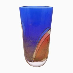 Carnival Collection Murano Glass Vase by Archimede Seguso for Seguso