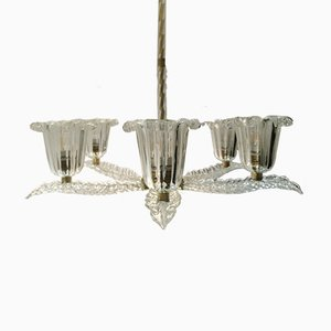 Chandelier by Ercole Barovier for Barovier & Toso, 1930s