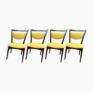 Chaises par Louis Van Teeffelen pour Wèbè, Set de 4