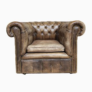 Vintage Chesterfield Armchair