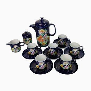 Coffee / Tea Set in Porcelain by Bjorn Wiinblad for Rosenthal