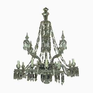 Neoclassical Style Crystal and Cut Glass Chandelier from F&C Osler
