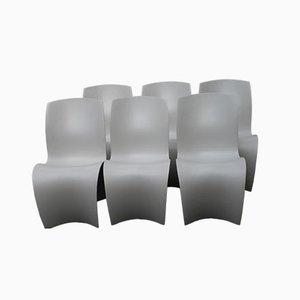 Three Skin Stühle von Ron Arad für Moroso, 2004, 6er Set