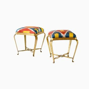 Ambrosio Stools by Pierluigi Colli, 1940, Set of 2