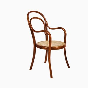 Vintage Nr 1 Kinderstuhl aus Bugholz von Thonet