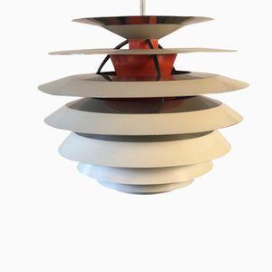 Lampe à Suspension Kontrast en Aluminium par Poul Henningsen pour Louis Poulsen, 1970s