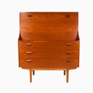 Danish Teak Bureau by Borge Mogensen for Soborg