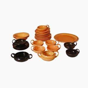 Vintage Keramik Teeservice von Herman A. Kähler