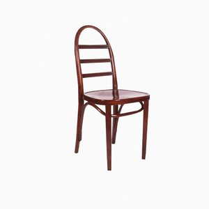 Art Deco Beech Bentwood Chair from Thonet, 1919