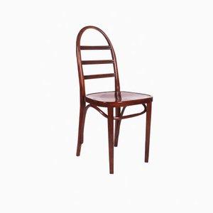 Art Deco Stuhl aus Buchenholz von Thonet, 1919