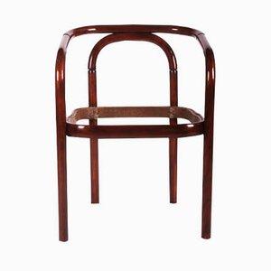 Chaise de Salon Vintage en Hêtre et Bois Courbé de TON