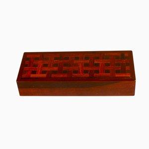 Dänische Palisander Box von Alfred Klitgaard